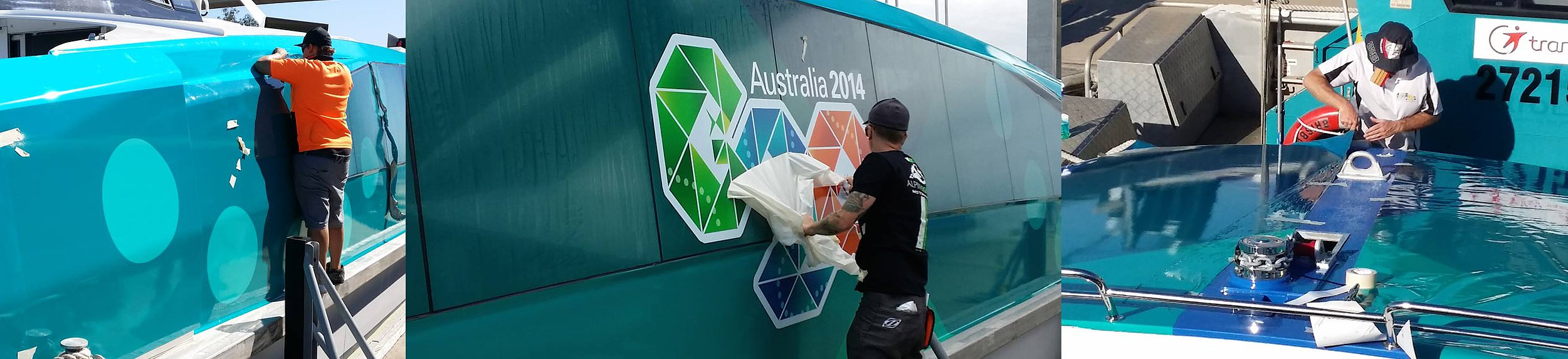Brisbane International Tennis Project - Alpine Signs